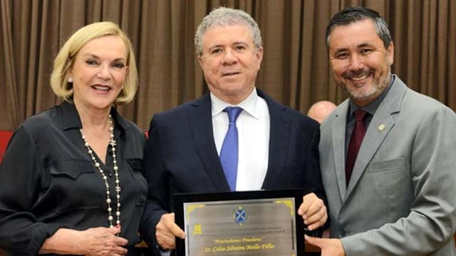 Empresário Celso Silveira Mello Filho e a esposa Maria Luiza Meneghel, morreram em queda de avião na manhã desta terça-feira (14) em Piracicaba (SP). — Foto: Reprodução EPTV