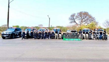 Prisão do acusado aconteceu em uma integração entre forças policiais de São Paulo e Mato Grosso do Sul. Foto: DIVULGAÇÃO