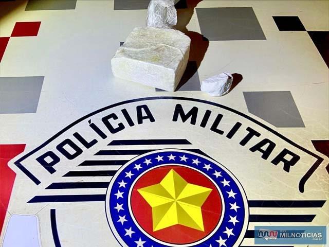 Se misturada a outras substâncias (batizada), droga poderia chegar a 1 kg. Foto: MANOEL MESSIAS/Agência