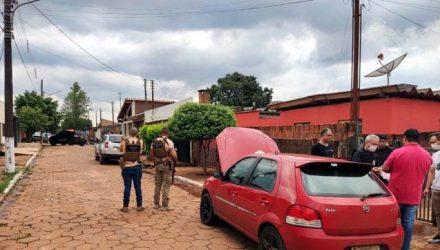 Policiais de Santa Fé do Sul (SP) prenderam o suspeito em Ponta Porã (MS) — Foto: Polícia Civil/Divulgação
