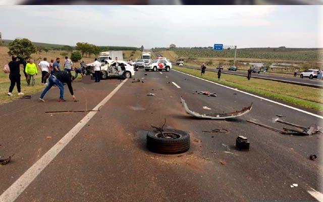Os três policiais militares retornavam de um curso em São Paulo, quando aconteceu o acidente. Foto: Divulgação