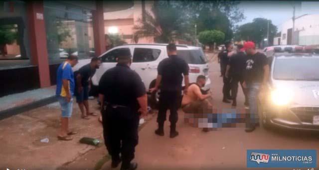 Vítimas foram mortas quando saíam de uma casa noturna em Pedro Juan Caballero. Foto: Divulgação