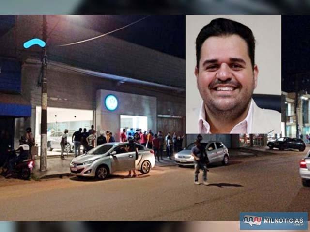 Na sexta-feira, 9, o vereador de Ponta Porã, Farid Afif, foi morto a tiros quando andava de bicicleta. Foto: Divulgação