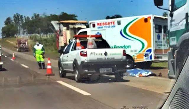 Funcionário terceirizado morreu ao ser atropelado por caminhão que também  prestava serviço. Foto: Divulgação